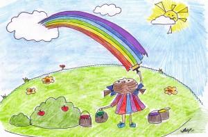 творческая мотивация радуга