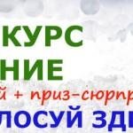 ФОТО — конкурс «НАСТРОЕНИЕ»! Голосуй за победителя!